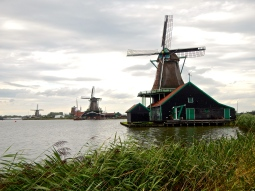 Beautiful old windmills - still working