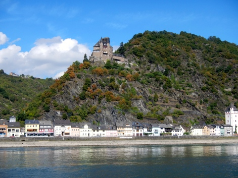 Castle in the Rhine Valley
