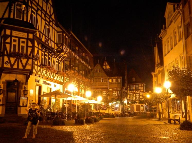 Bacharach by night