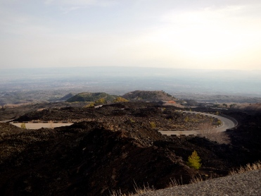 Sicily's Mt Etna lava trails, unbelievable thrill to ride around this mountain