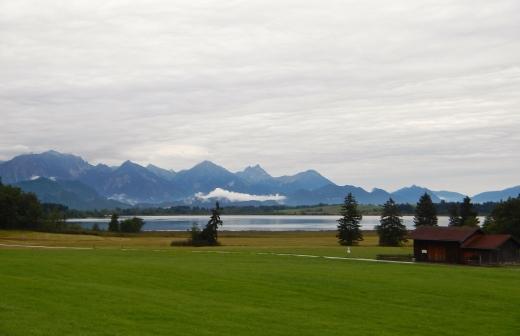 Stunning Alpsee Lake