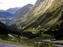 Swiss Alp roads are hard on tyres and brakes and worth ever bit !