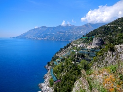 Amalfi coast Italy - A little more traffic but still worth the ride