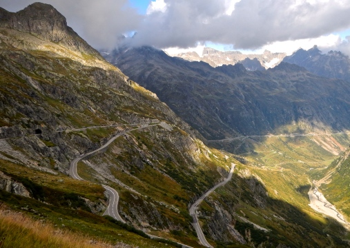 So many roads, so little time !!!! - Swiss Alps