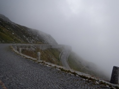 Simplon Pass near Italian boarder