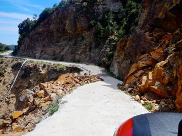 Not a lot of Sardinia's road budget used here...