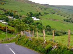 Riding through Irelands lush green countryside is a privilege