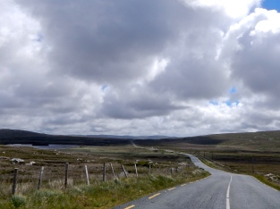 The unique Welsh countryside, no traffic, roughish roads, just right..