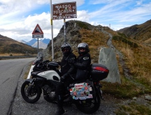 Just over the Swiss boarder and into Italy