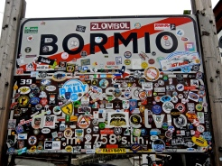 Stelvio Pass Bormio - KooWeeRup MCC sticker proudly displayed (Top RH corner)