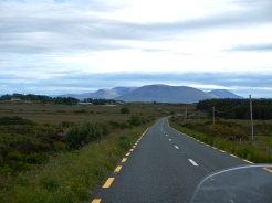 Irelands lush green countryside