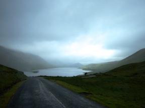 Irish mist, Irish mountains and great Irish roads....