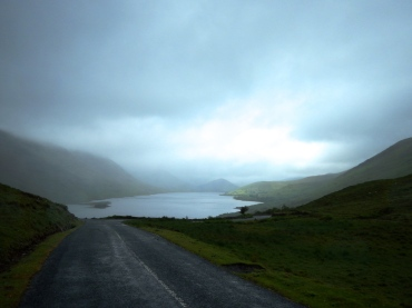 Irish mist, Irish mountains and great Irish roads....