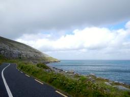 Typical Irish coastal road