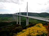 France's Millau Viaduct, a marvel of engineering and an experience just to ride over it