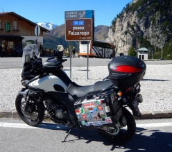 There's nearly always a Rifugio at the top of high mountain passes