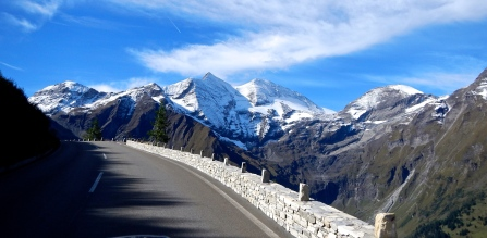 Part of Southern end of the Grosslockner road Austria