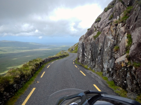 Just great riding along Ireland's West Coast Dingle area