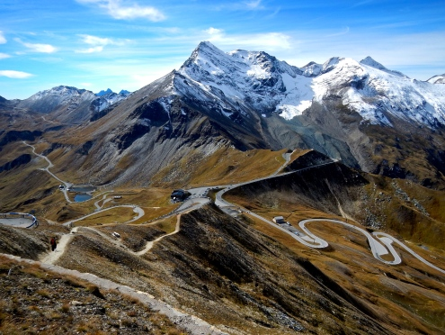 One of Austria's best, the Grosslockner road is full of scenery like this