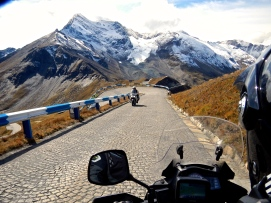 What scenery and paved road to finish it off..