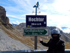 Grossglockner road at Hochtor Pass