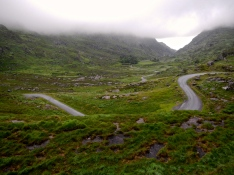 Irish mountain roads stand alone for scenery