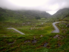 Irish mountain roads stand alone for scenery