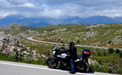 Crete was full of great roads and this was one of them..