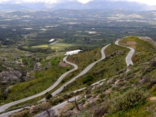 Crete's mountains roads are generally in good condition