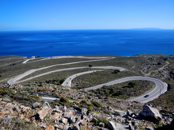 Sweeping bends and Mediterranean sea backdrop, Crete at its best !