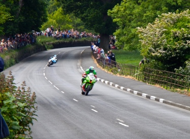 Isle of Man roads make a great race track