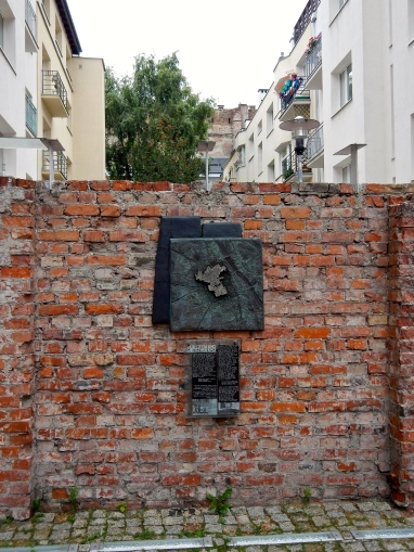 Part of original Getto wall