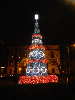 Another colourful Krakow Christmas Tree