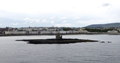Sailing into Douglas - Capital of IOM