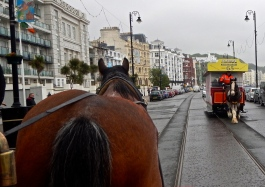 Second part - Horse drawn trams used along Douglas Promenade