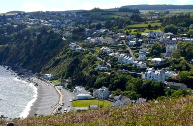 View over Laxey