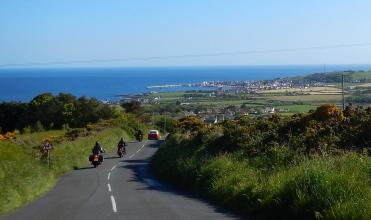 Heading towards Port St Mary