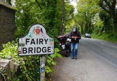Fairy Bridge - Where Isle Of Man legend Joey Dunlop would stop on every visit and pay his respect's to the fairy's