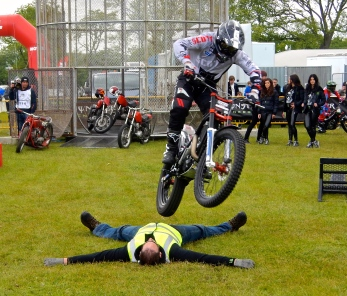 Trial bike entertainment
