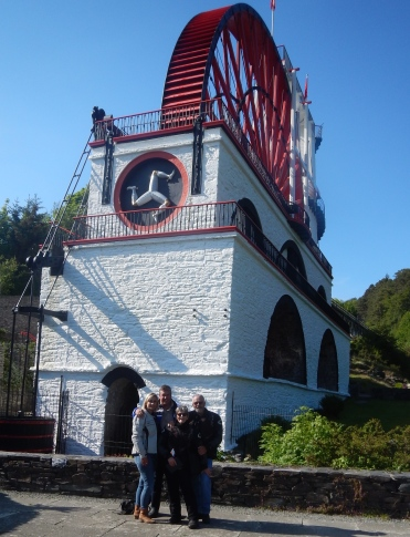 The Great Laxey Wheel - Used for pumping water out of mine shafts, built in 11854 and still remains the words largest working waterwheel