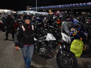 Early start, 2am and lined up for the ferry ride to Ireland for the next part of the journey