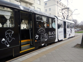 Coffee tram or Collingwood's attempt to get a fan base here in Warsaw.....