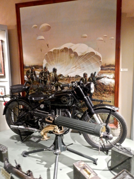 Warsaw Military Museum Nice example of an old Matchless Motorcycle