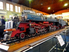 Warsaw Railway museum This is a model of one the largest stream engines ever produced