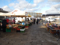 Local market , on a quiet day