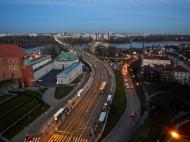One of many bridges over Vistula river
