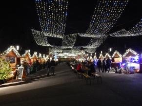 Christmas market near Stadium