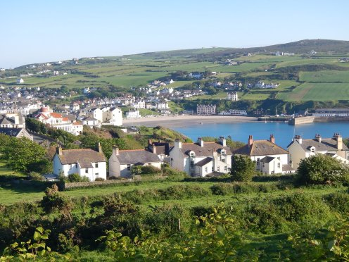 The picturesque Port Erin