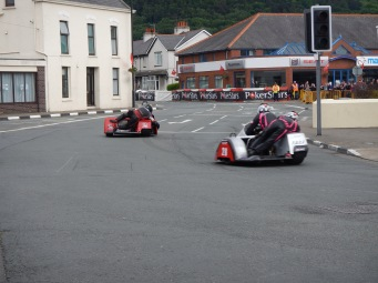 Sidecar action at Ramsey
