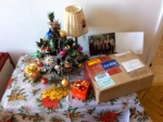 Parcel 'under' the tree